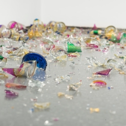 Erratum (detail), Latifah Echakhch, photo by Nathan Keay, (c) MCA Chicago